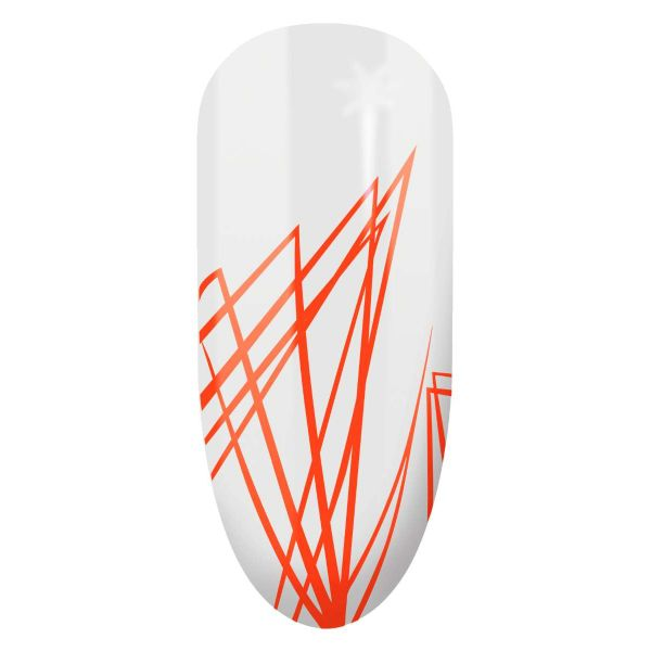 Gel για σχέδια Nail Art Semilac Spider Gum 06 Orange Neon